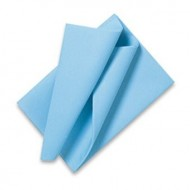 Serviettes Bleu ciel 40 X 40 - 2 Plis x 50 pièces