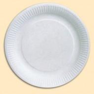 Assiettes cartons rondes 23 cm x 50 pièces